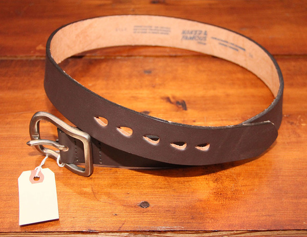 Men's Naked & Famous - Thick Belt - Brown