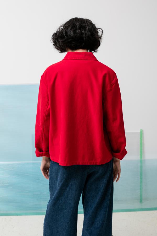 Caron Callahan Krasner Jacket - crimson