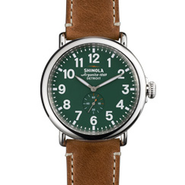 Shinola Detroit - The Runwell 47mm - Green Dial