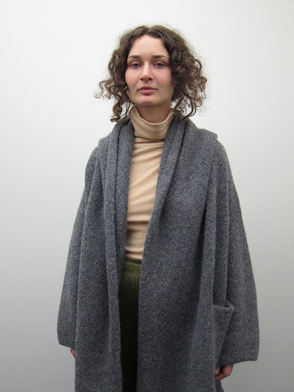 Lauren Manoogian Capote Coat, Charcoal