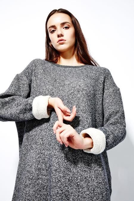 Devlyn Van Loon 'Sweatshirt' dress