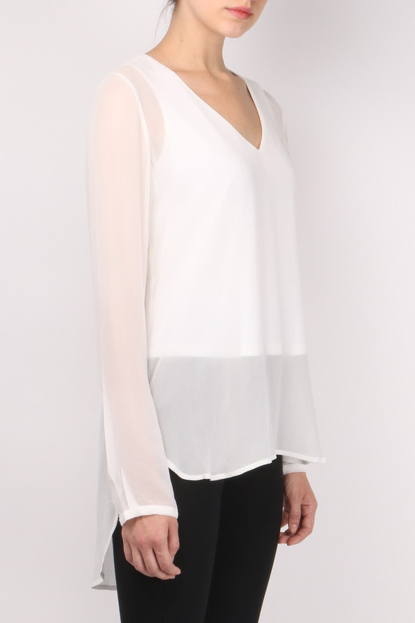 GOSILK Go Sheer Top