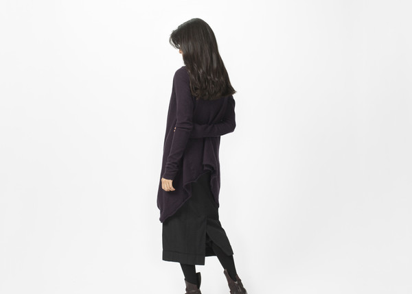 Rundholz Wrap Sweater