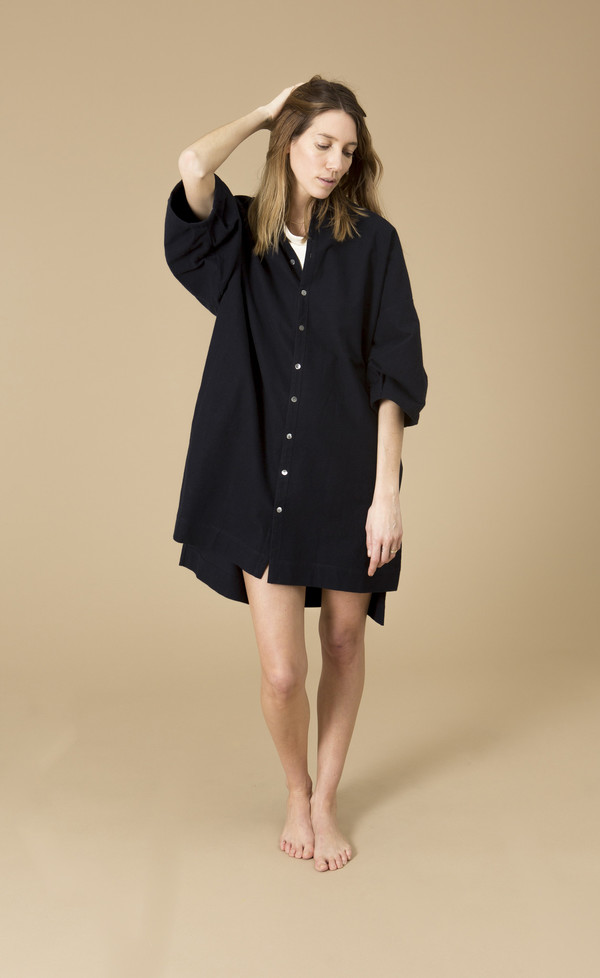 Ilana Kohn Marion Dress, Navy