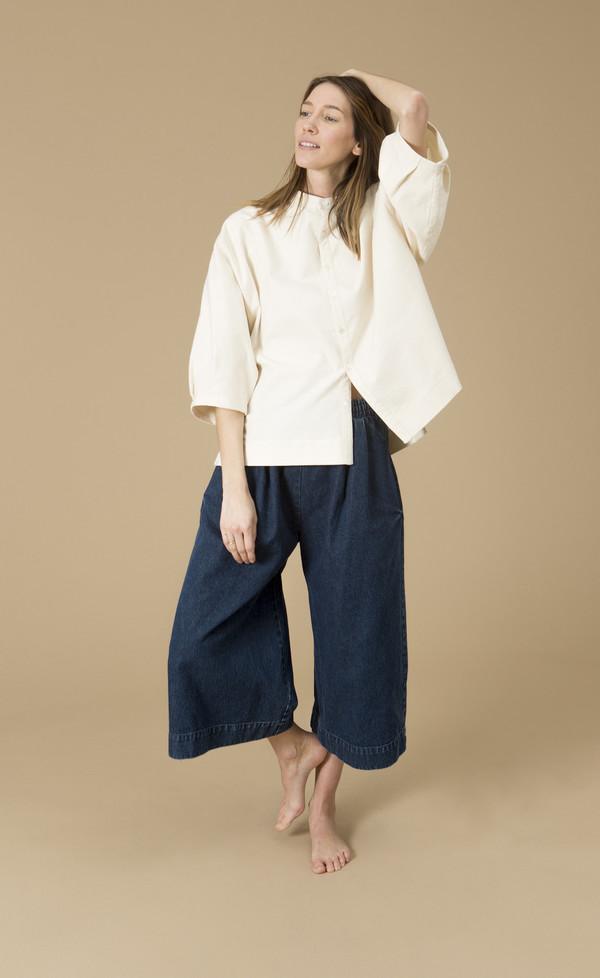 Ilana Kohn Marion Shirt, Cream