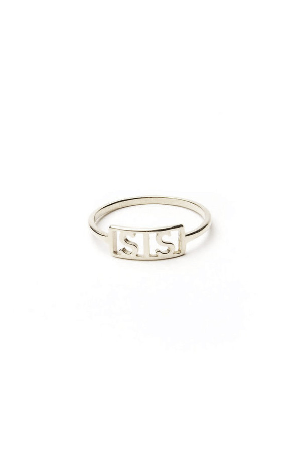 Winden Sis Ring, Sterling Silver