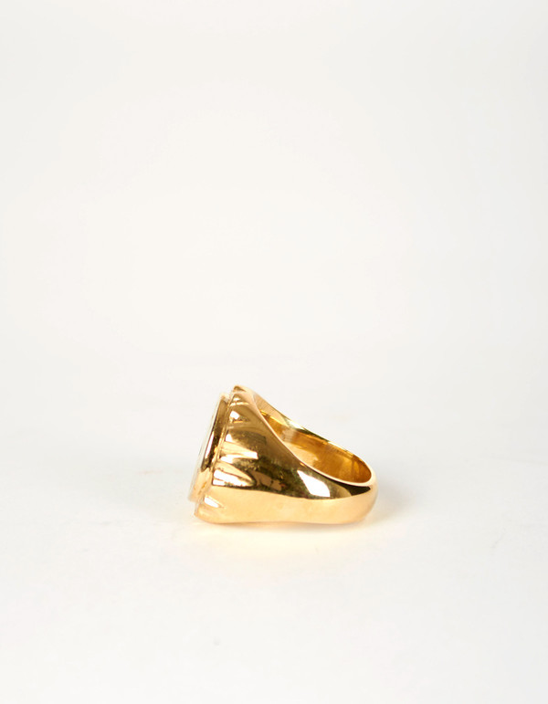 Jon Swinamer Anchor Cap Ring Bronze