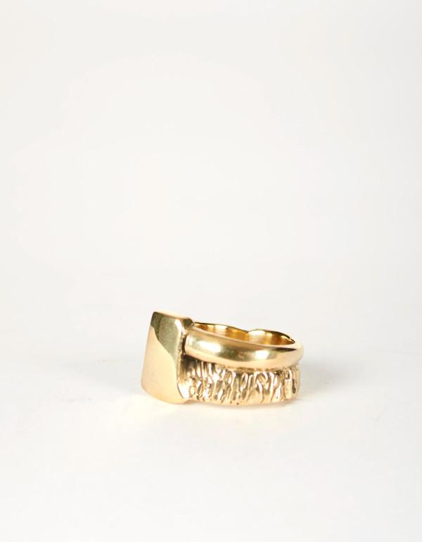 Jon Swinamer Axe Ring Bronze