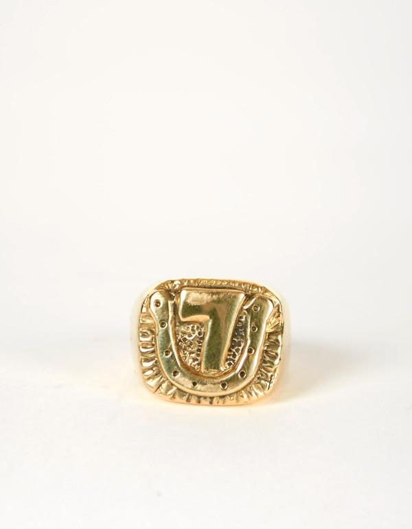 Jon Swinamer Lucky 7 Ring Bronze