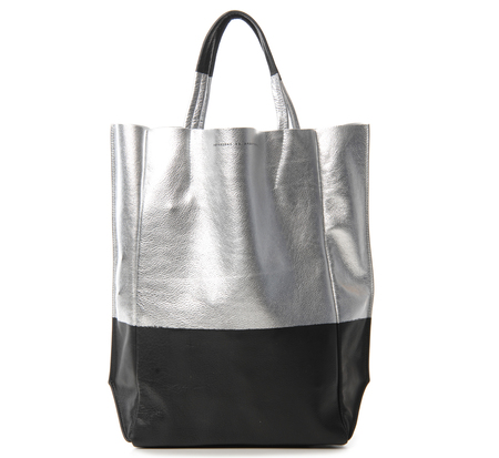 Ampersand as Apostrophe Foil Color Dipped Tall Tote