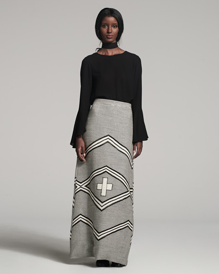 VOZ Apparel Ojos Skirt