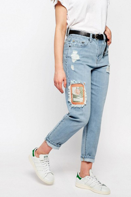 WAVEN Aki Boyfriends Jeans- Idol Blue