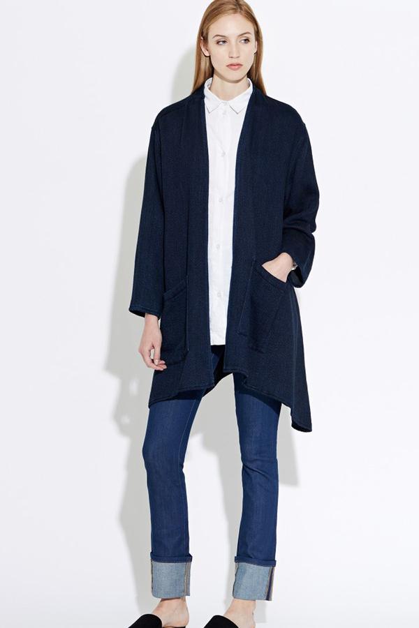 WAVEN Eva Kimono Jacket- Valentini Blue