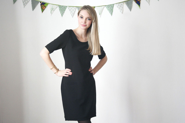 BETINA LOU GEMMA DRESS - BLACK