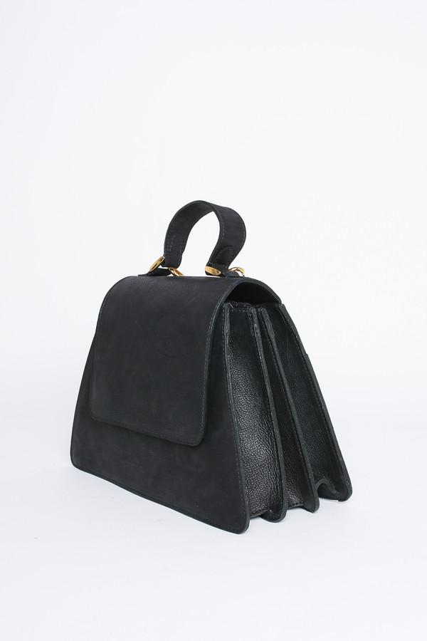 Ceri Hoover Kyle black handbag in black