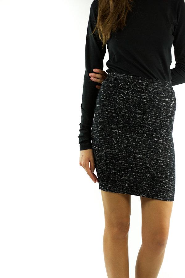 Just Female Tammy Skirt - Black