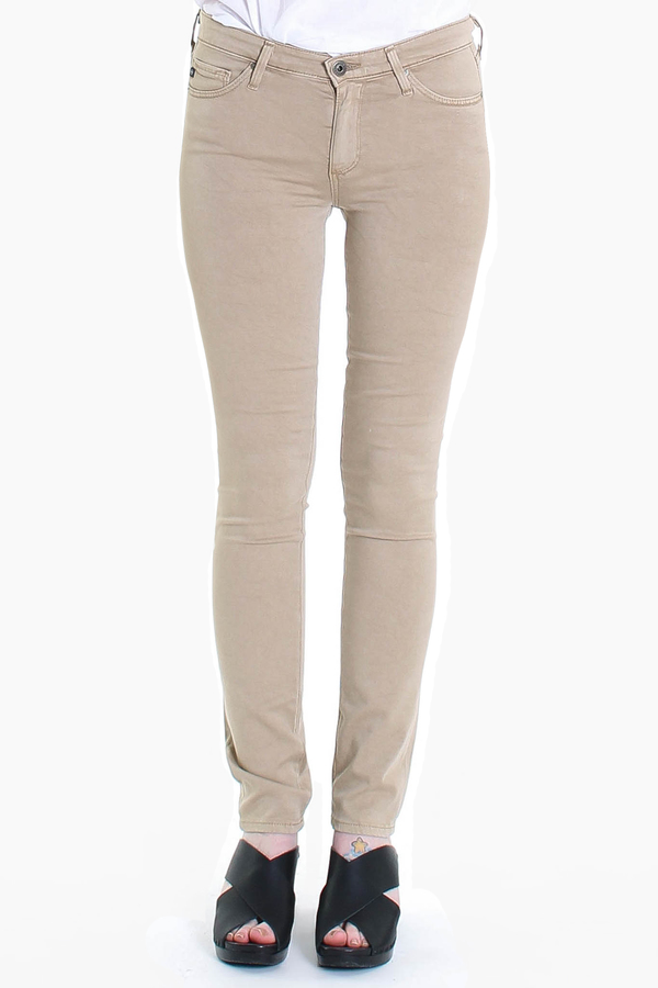 AG Jeans Prima Sateen in sulfur coyote