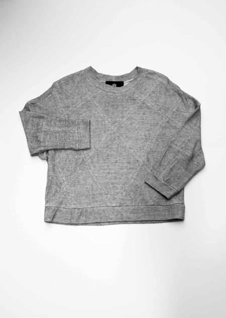 Berenik Sweater Patchwork Knit Grey