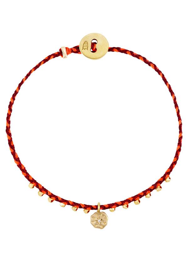 Scosha Easygoing sun charm bracelet