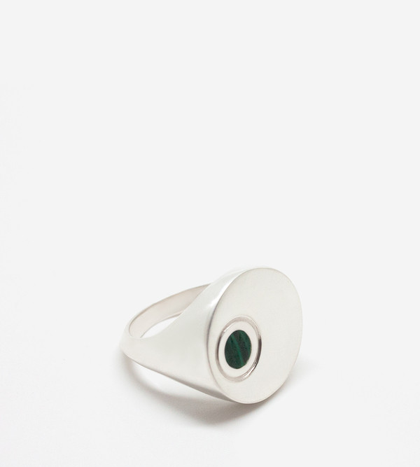 Luz Ortiz Inlay Signet Ring