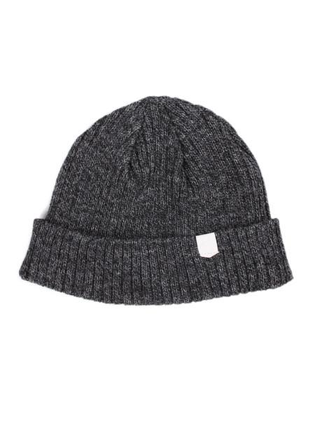 Men's MAPLE Wool Knit Beanie Charcoal