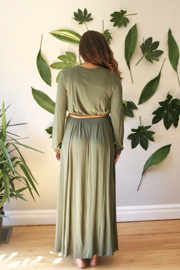 COVET CLOVER MAXI DRESS