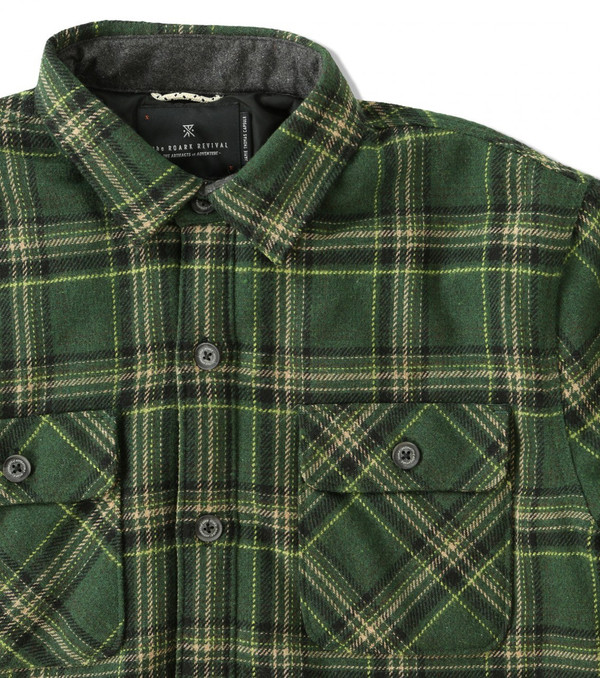 Men's Roark Revival Chief Flannel by Jamie Thomas
