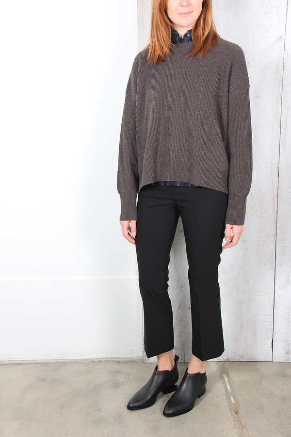 Helmut Lang OPEN BACK SWEATER