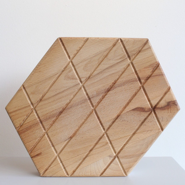 Areaware Grid Plank Cutting Boards