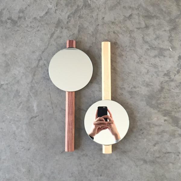 Lonewa Hex Hand Mirror