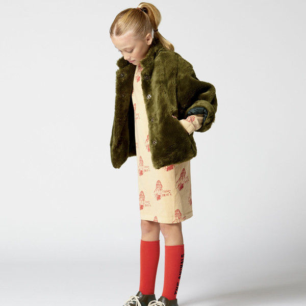 The Animals Observatory Fly Kid's Dress