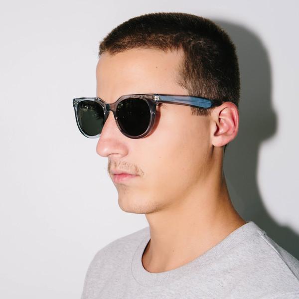 Han Kjobenhavn Paul Senior Sunglasses, Grey Transparent
