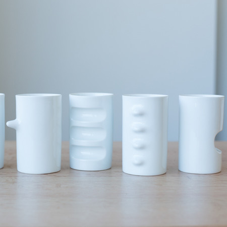 Saikai Six Piece Porcelain Cup Set