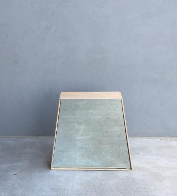 BEAR IT NO MORE Trapezoid Mirror