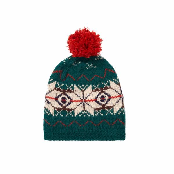 Caramel Snowflake Hat