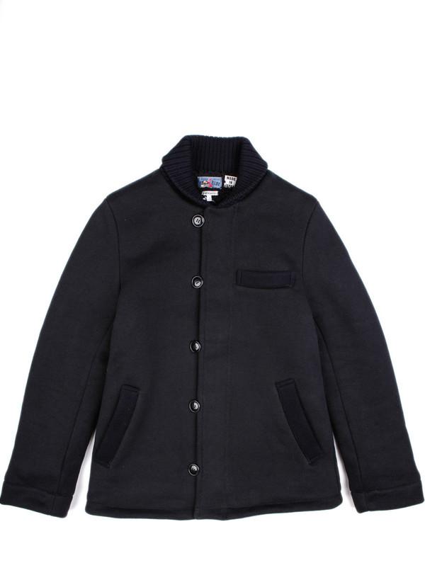 Men's Blue Blue Japan Heavy Sweat MA Jacket