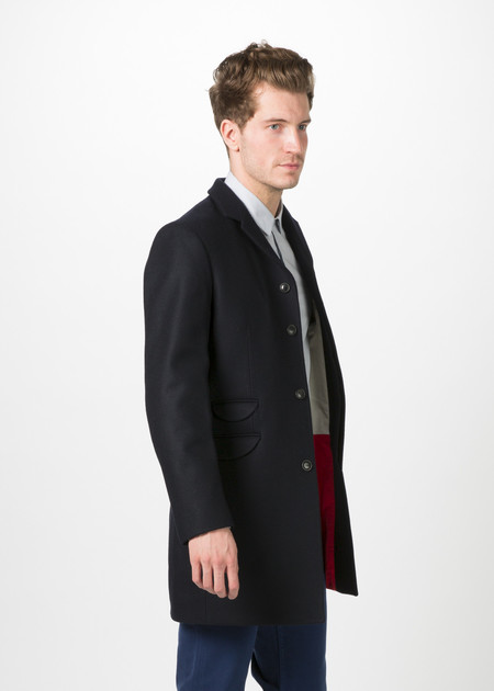 Men's Homecore Leeds Melton Coat
