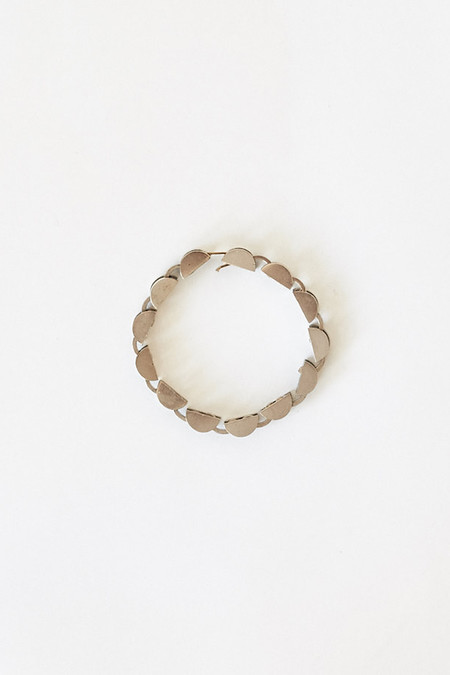 Samma White Bronze Bracelet