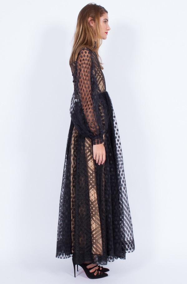 INCREDIBLE BLACK LACE DRESS (MEDIUM)