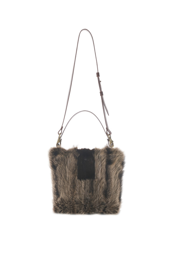 Lowell QUITO FOURRURE DE CHAT SAUVAGE RECYCLÉE / RECYCLED RACOON FUR