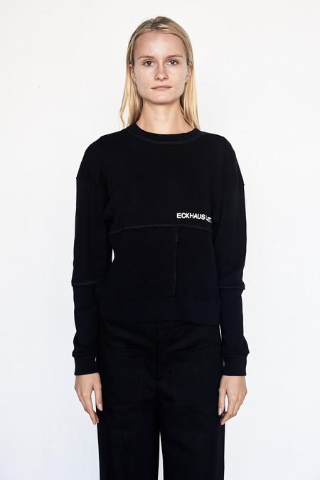ECKHAUS LATTA Cotton Lapped Sweatshirt