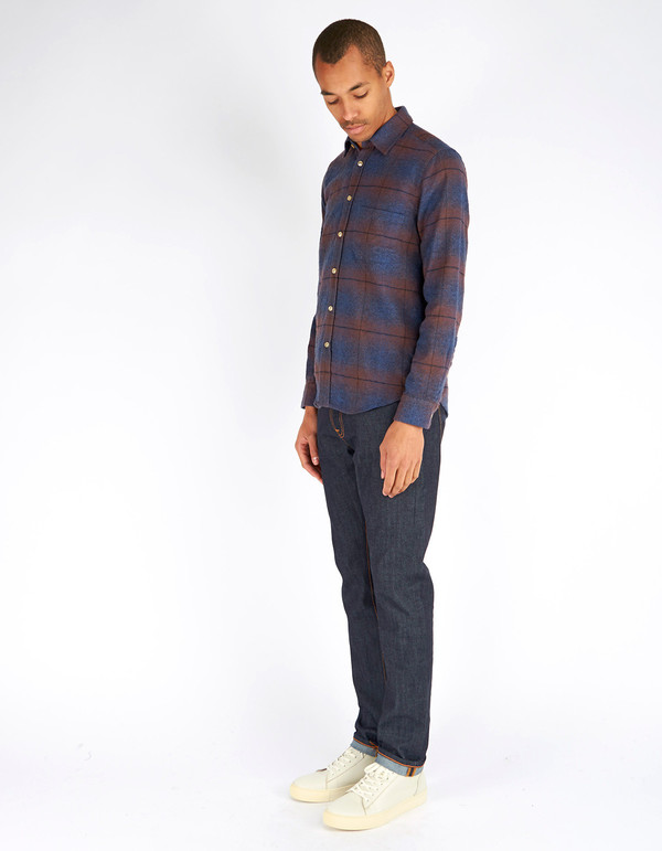 Portuguese Flannel Grampo Shirt Plaid