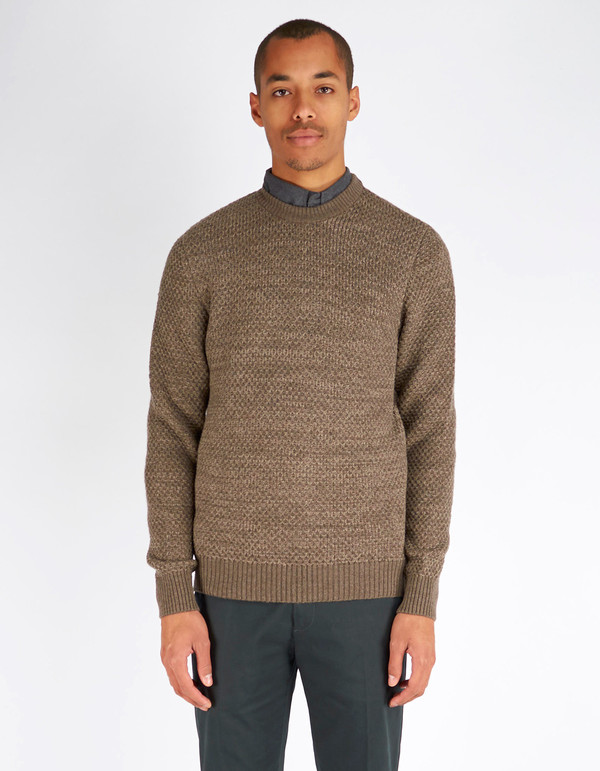 Men's No Nationality Jim Knit Brown