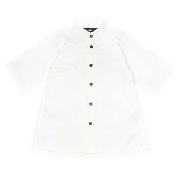 même RIVER White Button-Up Shirt
