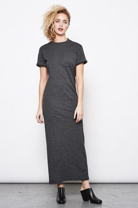 Mary Meyer Pocket Maxi - Grey Stripe