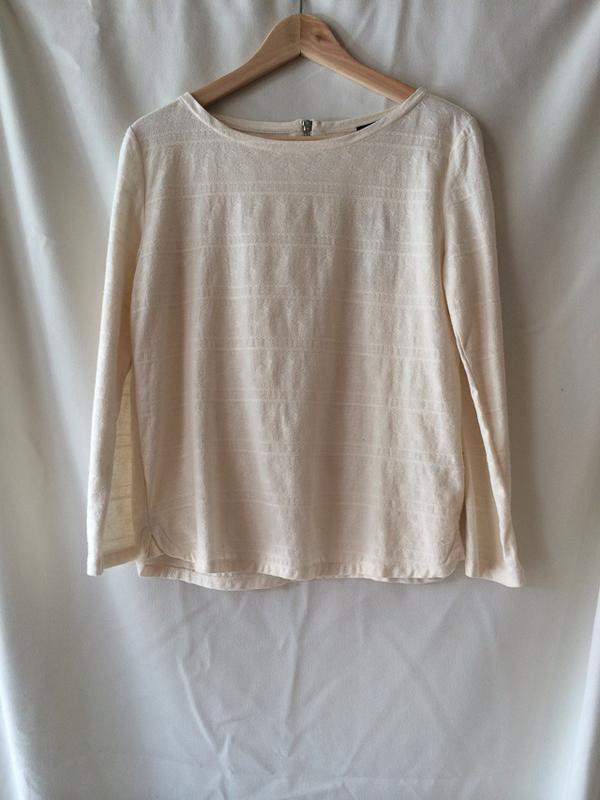 A.P.C Dos Zip T-Shirt
