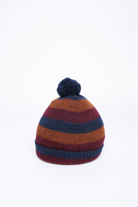 Men's Oliver Spencer Ola Hat in Caramel Multi
