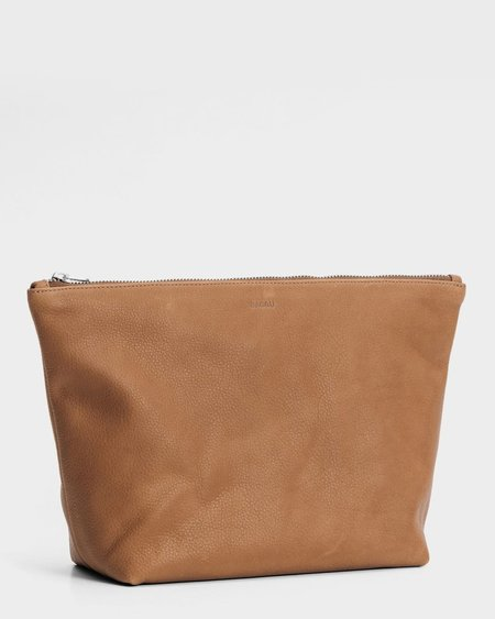 Baggu Stash Clutch Large - Saddle