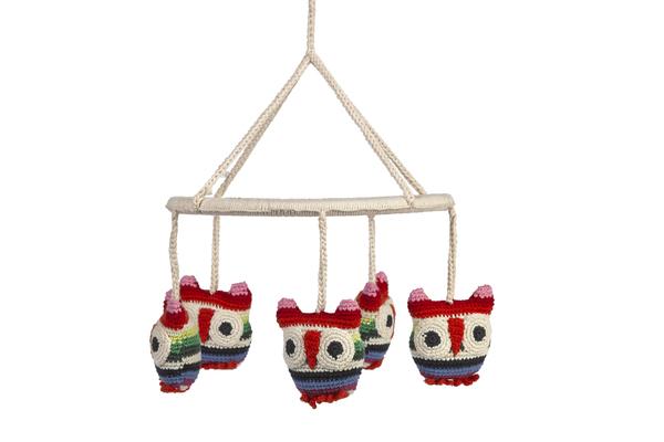 Anne-Claire Petit Mobile Owls - Dodo Les Bobos