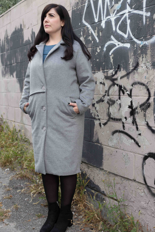 Valérie Dumaine Valerie Dumaine Kenneth Coat (Grey)